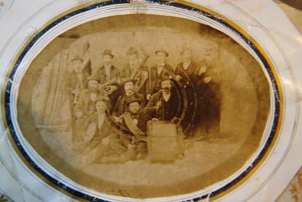 Restaurierung von Gruppenfoto