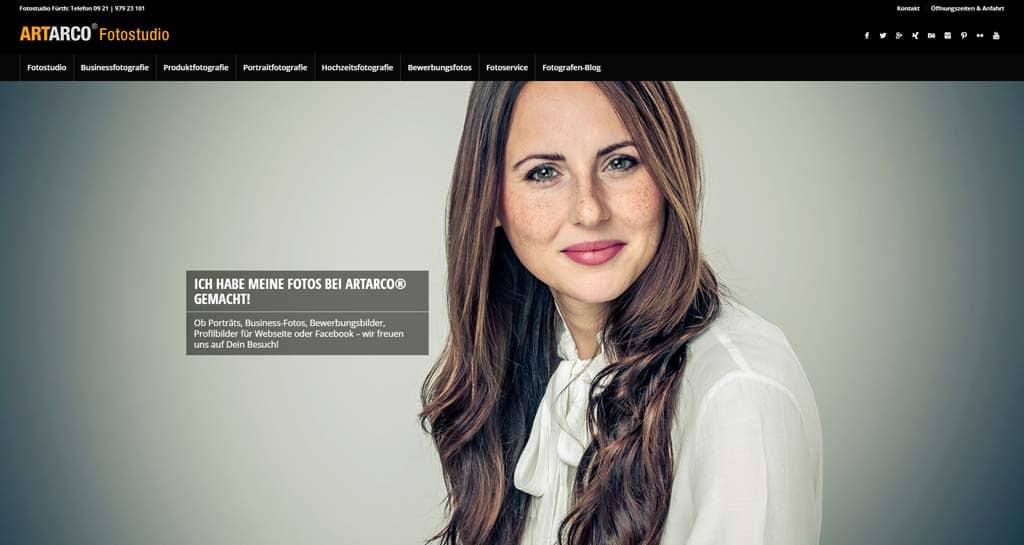 Relaunch ARTARCO Webseite - 2018