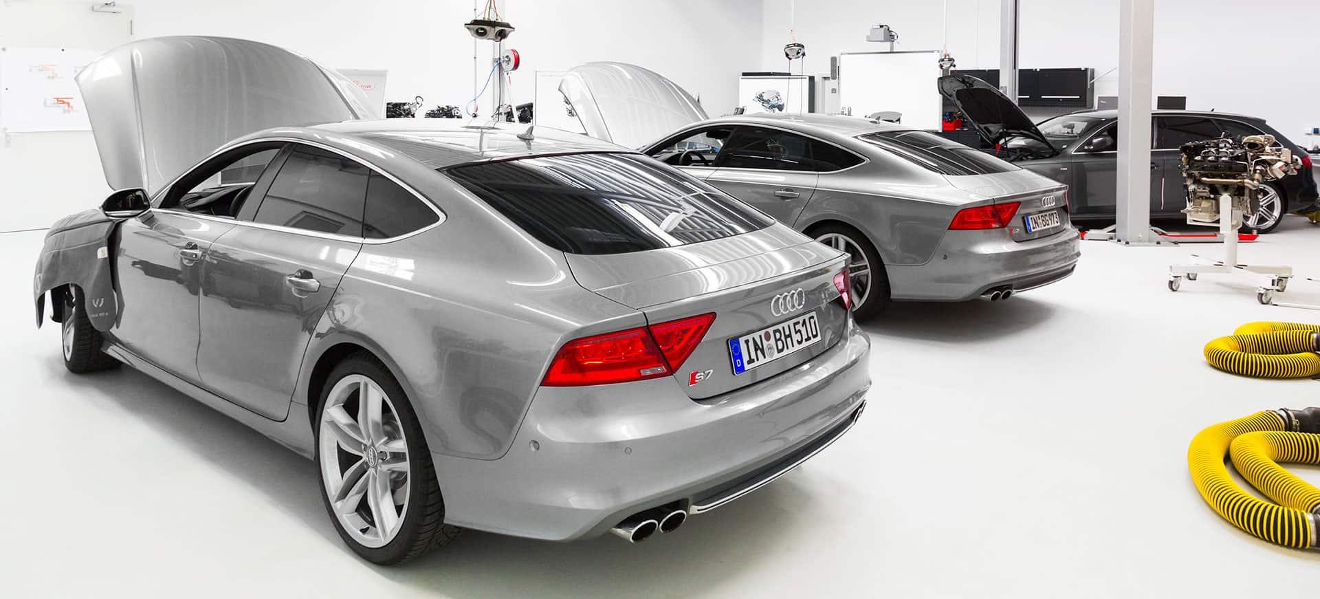 Audi Industriefotografie
