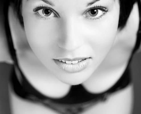 Große Augen - ein Beauty-Porträt