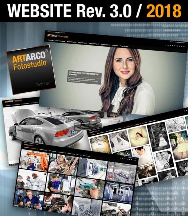 Neue Seite für ARTARCO Fotostudio